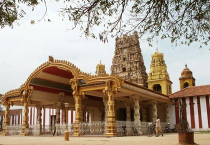 Nallur Temple in Jaffna